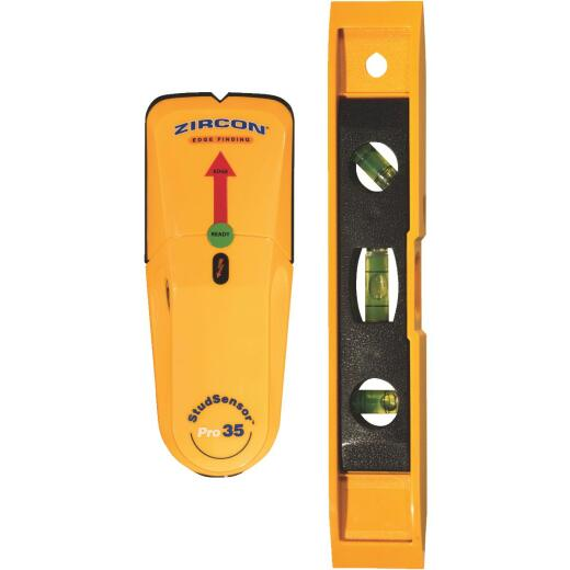 Zircon Stud Sensor Pro 35 Stud Finder with Level