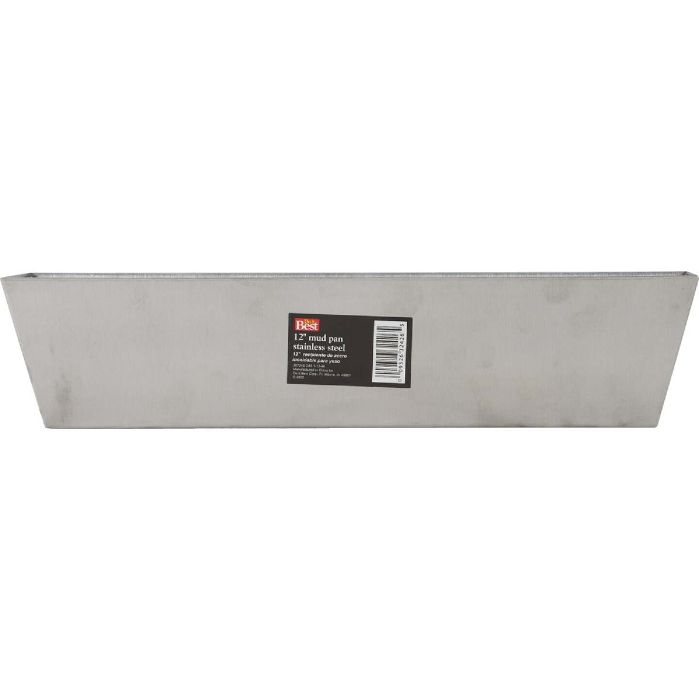 Do it Best 12 In. Stainless Steel Mud Pan Image 2