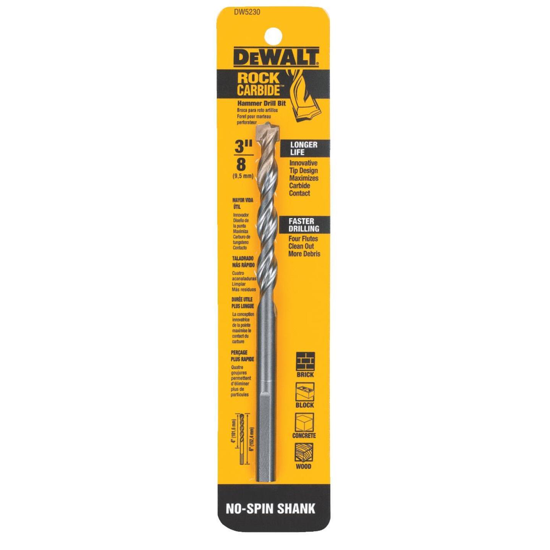 DeWalt 3/8 In. x 6 In. Masonry Drill Bit Image 2