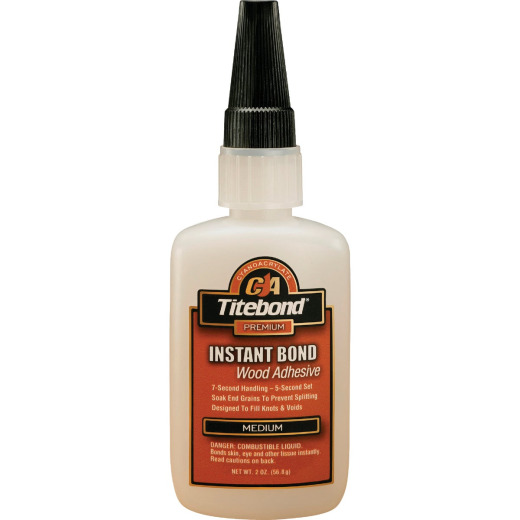 Titebond 2 Oz. Instant Bond Medium Viscosity CA Wood Glue