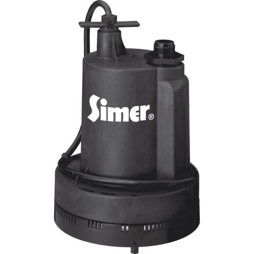 Flotec 1/4 H.P. Submersible Utility Pump
