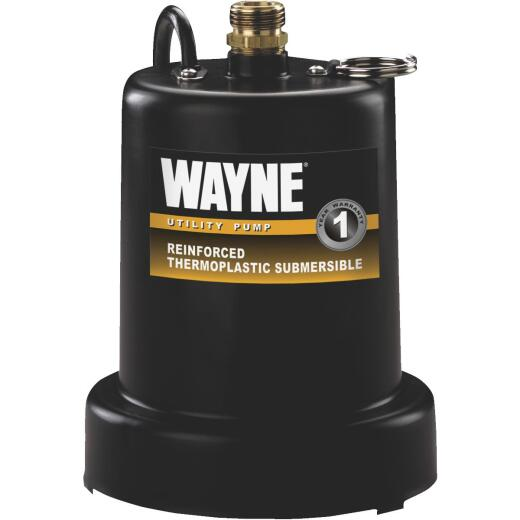 Wayne 1/4 H.P. Submersible Utility Pump