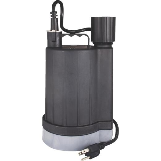Do it 1/4 H.P. Sensor Submersible Utility Pump