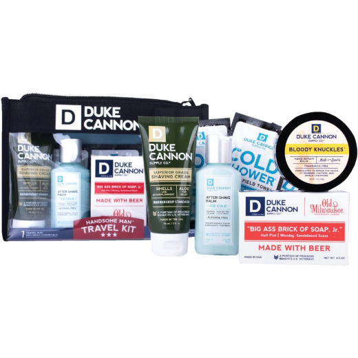 Duke Cannon Handsome Man Travel Kit (5 Pack)
