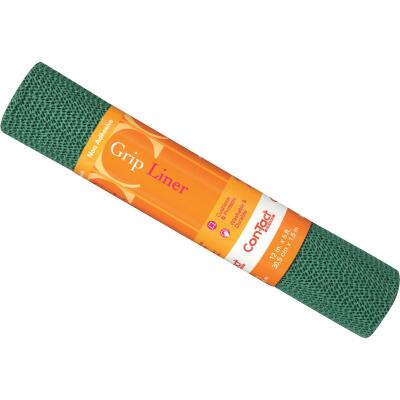 Con-Tact 12 In. x 5 Ft. Hunter Green Beaded Grip Non-Adhesive Shelf Liner