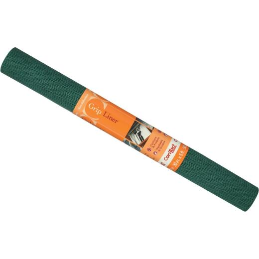 Con-Tact 20 In. x 5 Ft. Hunter Green Beaded Grip Non-Adhesive Shelf Liner