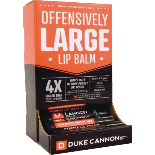 Duke Cannon Hydrate + Repair 0.56 Oz. Orange Mint 30 SPF Lip Balm