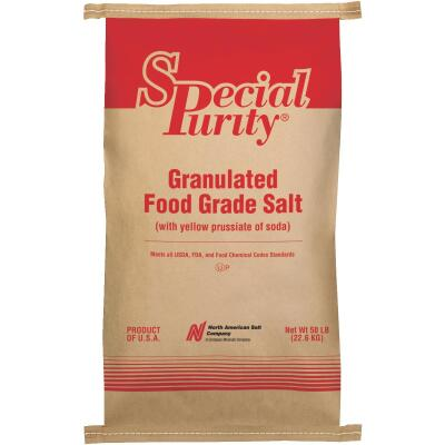 Special Purity 50 Lb. 99.9% Purity Food Grade Salt
