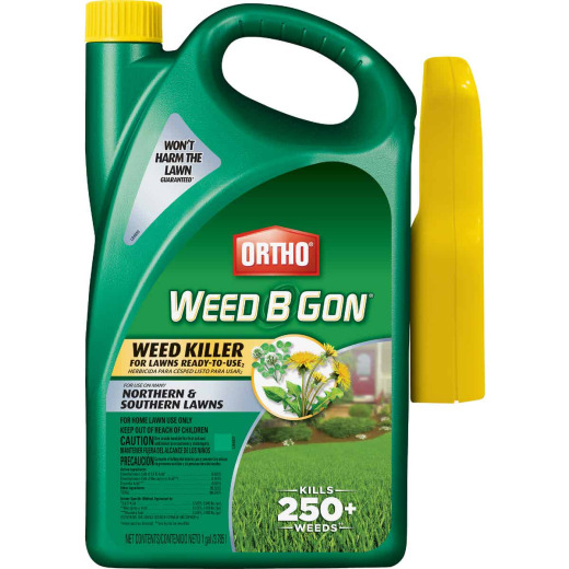 Ortho Weed-B-Gon 1 Gal. Ready To Use Trigger Spray Weed Killer For Lawns