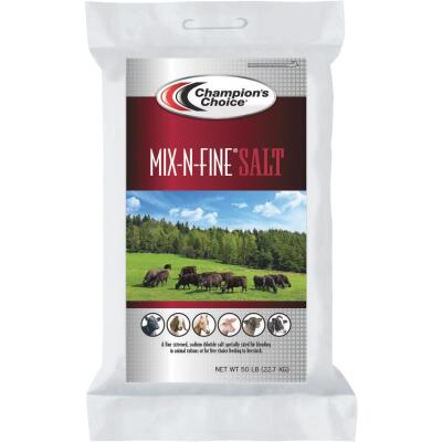 Champions Choice Mix-N-Fine 50 Lb. 100% Purity Salt