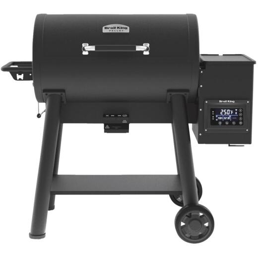 Broil King Baron Pellet 500 Black 800 Sq. In. Grill
